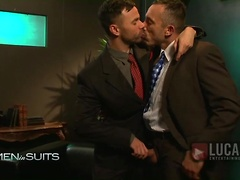 Alessio Romero and Conner Habib - Men in Suits - Gentlemen Vol 1