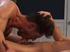 Justin Cruise takes Adrian Long balls deep