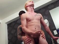 Pierre Pounds Liam Emerson in the Bathtub!