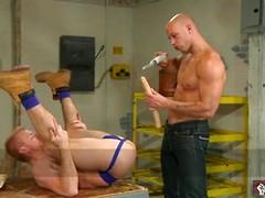 Man gets dildo up his ass