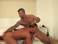 Cock sucking action