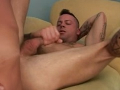 Horny boys keep warm by fucking hard!