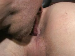 Stud's ass gets cleaned & fucked