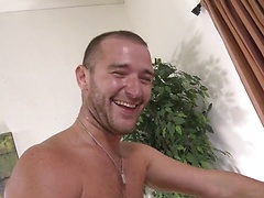 Straight man Lucas Allen fucks his friend Austin Onyx