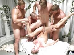 Sex Traveler Part 3 - JO - Jizz Orgy - Colby Keller Colby Jansen - Adam Herst - JD Phoenix & Landon Conrad