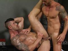 Adam Killian Gets a Workout on Adriano Carrasco's Latin Cock