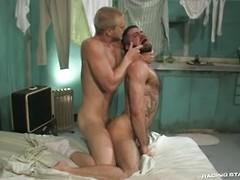 Two hot guys pounding ass