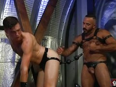 Alessio Romero and Brandon Moore in Hole Busters 10 (Scene 4)