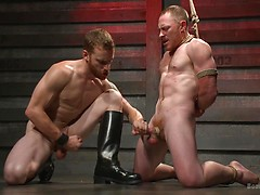 Introducing Mr Keys - Brutally torments and fucks his cock slave