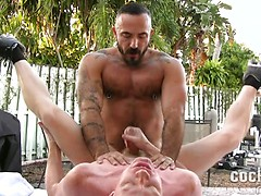 Alessio Romero barebacks Jay Conrad