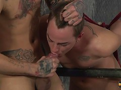 How Much Can That Twink Hole Take? - Cameron James And Mickey Taylor