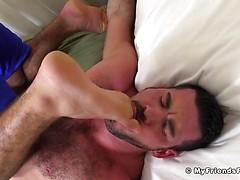 Ricky Larkin Dominates and Tickles Billy Santoro - Billy
