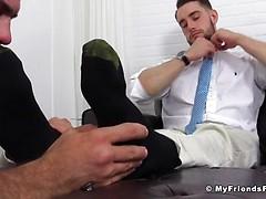 KC's New Foot  Sock Slave