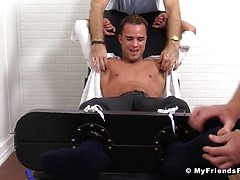 Javi Gets Tied Up and Tickled Silly - Javi