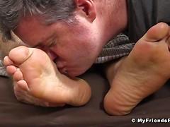 Silas'Socks and Feet Worshiped While He Sleeps - Silas