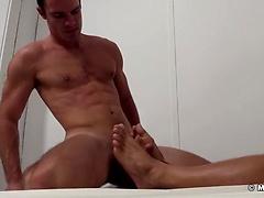 Cameron Foot Worships Gorgeous Sebastian Young - Sebastian