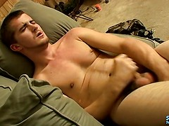 Self Sucking Young Straight Guy Fucks His Own Face - Potter