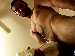 Fucking a Sex Toy and Shooting 2 Cum Loads - Pimp