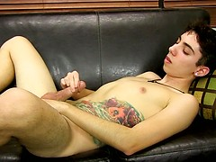 Stroking In An Interview With Clayton - Clayton Summers