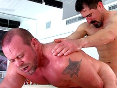 Like Father, Like Son: The Boys Jerk-off Watching Their Dads Fuck!