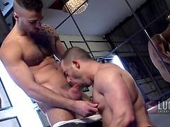 Felix Barca Rides Sexy Pornstar Will Helm's Hard, Uncut Cock