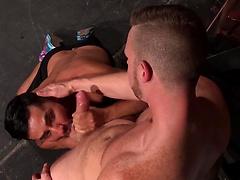 Backstage Pass - Brian Bonds and Bruno Bernal fucking