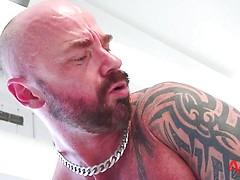 Interracial Daddy Fucking