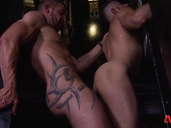 Horny Hunks in After Hours Fun