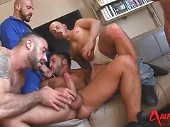 7-Man Alphamales Orgy