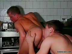 A Hardcore Snack In The Kitchen - Alex And Temes