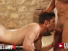 Muscle Daddy Bulrog Tops Devin Franco