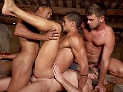Zander Craze, Jacen Zhu, Wolf Rayet, Ibrahim Moreno - Rough Double Penetration