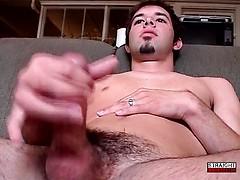 Ryan Unleashes A Nice Big Cum Load - Ryan