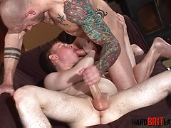 Harley Everett and Freddie White