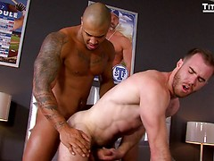TaXXX: Agent Liam Knox plays hardball with Bennett Anthony
