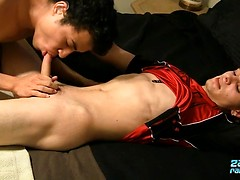 Hung Straight Adam Learns A Little - Adam Hess and Isaac Yale
