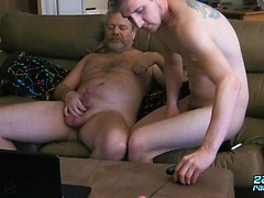 Wyatt Loves That Daddy Dick - Wyatt Blaze And JS Wild