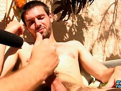 Sucking Off A Straight Boy - Jeremy Cox & JS Wild