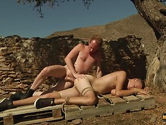 Bottom Boy Pumped With Cock - Jack Ashley & Sean Taylor