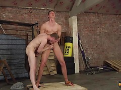 Cum Draining Flogging Session - Billy Rock & Sean Taylor