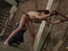 Ball Tugging Arse Fucking! - Sabian Reuben & Ashton Bradley