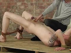A Torturous Wanking Session! - Levi Stephans And Ashton Bradley