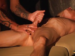 Sensual Stroking For Titus - Titus Snow & Tyler Jenkins