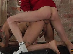 Roped Down And Used As A Fuck Toy - Nathan Hope and Ashton Bradley