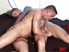 Harley Everett and Chase Reynolds